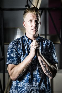 Brand new session with Josh Homme from the Queens Of The Stone Age. While on tour with Jesse Hughes and the Eagles Of Death Metal. Photographed by Thomas Baltes.