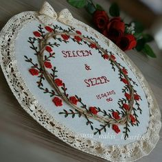 17k Followers, 298 Following, 242 Posts - See Instagram photos and videos from ❤SuŞu❤ (@susu_nakis_tasarim) Embroidery Sampler, Embroidery Works, Embroidery Patterns, Hand Embroidery, Mandala, Ribbons, Creative, Handmade, Crafts