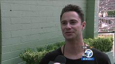 Abc7george's interview with Sasha at Hollywood Bowl via abc7 media