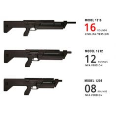 SRMARMS SHOTGUNS MODEL 1216,1212,1208