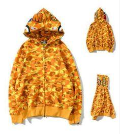 Shark Head, Shark Jaws, Camo Hoodie, Hoodies For Sale, A Bathing Ape, Bape, Hooded Jacket, Hoods