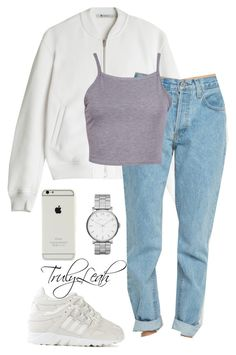 457// by trulyleah on Polyvore featuring polyvore fashion style T By Alexander Wang adidas Marc by Marc Jacobs clothing