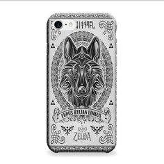 Legend Of Zelda Twilight Wolf Link Line iPhone 7 Plus 3D Case