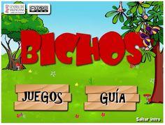 """""""Bichos"""", de la Generalitat Valenciana,  es una interesante aplicación interactiva que trabaja, mediante juegos, el Segundo Ciclo de Educación Infantil. de 4 y 5 años, en el Área de Comunicación y representación: Lectoescritura, matemáticas y manejo del ordenador."""