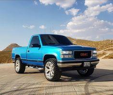 1994 Chevy Silverado, Lifted Silverado, Chevy Stepside, Lifted Chevy Trucks, Gm Trucks, Chevrolet Trucks, Pickup Trucks, Single Cab Trucks, Rc Drift Cars