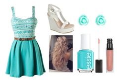 """""""Untitled #2"""" by alexiacasa on Polyvore featuring Lola Cruz, Accessorize and Essie"""