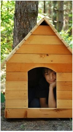 100  Free Do It Yourself Dog House Plans and Building Guides - Build your dog a great backyard home this weekend.