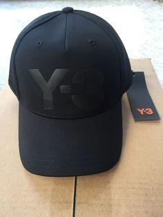 cef08334004 Y-3 ADIDAS YOHJI YAMAMOTO TRUCKER CAP DT0884 Black 58cm  fashion  clothing