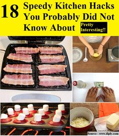 18 Speedy Kitchen Hacks You Probably Did Not Know About