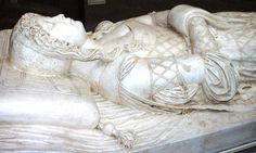 Beatrice D'Este's Tomb:  Certosa di Pavia, Lombardy, Italy 29 June 1475--3 January 1497 wife of Ludovico Sforza Duchess of Bari and of Milan