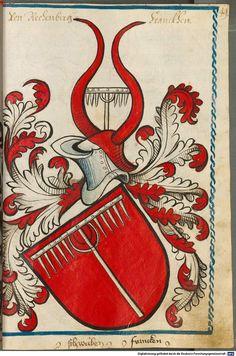 Scheibler'sches Wappenbuch Süddeutschland, um 1450 - 17. Jh. Cod.icon. 312 c  Folio 49