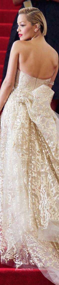 #Rita Ora 2014 #Met Gala Red Carpet