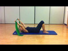 Fitball esercizi per addominali schiena glutei dorsali for Workout esterno coscia