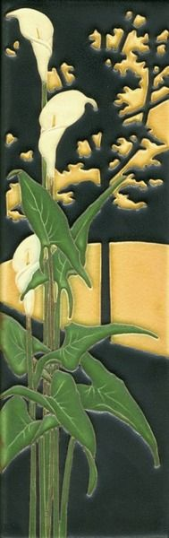 Calla Lily by Motawi Tileworks