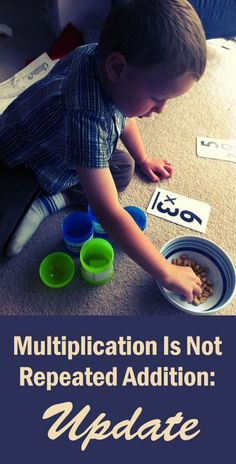 Until our students wrestle with the concept of ratio, they can never understand multiplication...
