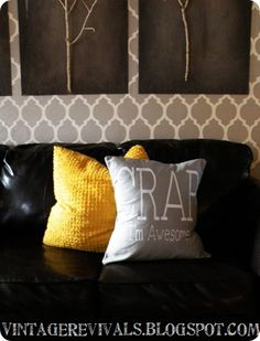 how to sew a removable pillow cover