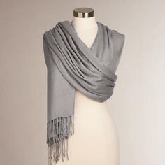 One of my favorite discoveries at WorldMarket.com:   I love these scarves...made in India...very soft and come in delightful colors!