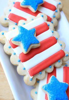 Munchkin Munchies: Double~Decker Flag Cookies  SprinkleBakes Book Winner!