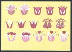 step-by-step Folk ART Flowers - Oksana Volkova - Álbuns Web Picasa