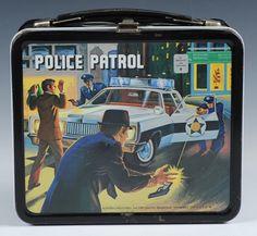 1978 POLICE PATROL LUNCH BOX