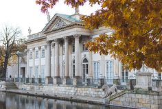#Wasserschloss in #Warschau
