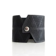 Chevron Cuff I Black, now featured on Fab. Like!!!
