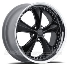 Chip Foose Nitrous Wheels Black 20X8.5