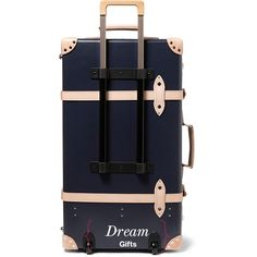 Dream gift: Globe-trotter suitcase