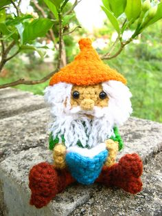Ravelry: Amigurumi gnome and flower fairy -Crochet pattern PDF pattern by Anupama Pradeep