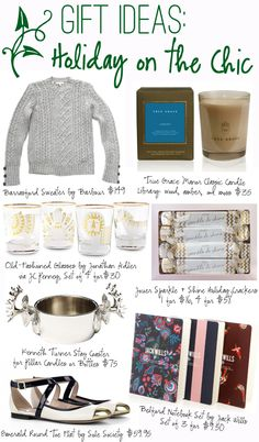 Gift Guide: Holiday on the Chic