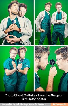Paging Dr. Jones and Dr. Free... #roosterteeth