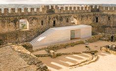 Comoco Arquitectos - Visitor Centre, Castelo de Pombal, Portugal