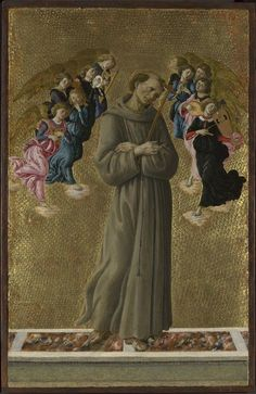 'Saint Francis of Assisi with Angels', c.1475-80
