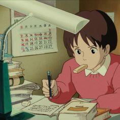 Tagged with movies, studio ghibli, whisper of the heart, stills, studio ghibli stills; Studio Ghibli Stills - Whisper of the Heart - Hayao Miyazaki, Wallpaper 1920x1200, 1366x768 Wallpaper Hd, Studio Ghibli Films, Art Studio Ghibli, Movie Wallpapers, Cute Wallpapers, Totoro, Anime Studio