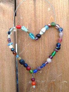Wire and Bead Sun Catchers