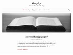 Wordpress Theme graphy