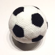 A personal favourite from my Etsy shop https://www.etsy.com/au/listing/247248911/crochet-soccer-ball-pdf-pattern