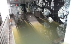 New York's flooded subway