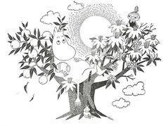 Moomin stuff online! Moomin Tattoo, Illustrations And Posters, Illustration, Illustration Character Design, Moomin, Drawings, Painting, Art, Artsy