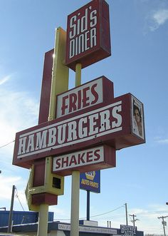 14 American Diners You Can't Miss On your next road trip!  Sid's Diner…#4 on FNC's list of top 5 burgers in the U.S.!