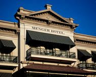 The Menger Hotel across from the Alamo, full of history and Texas heritage.
