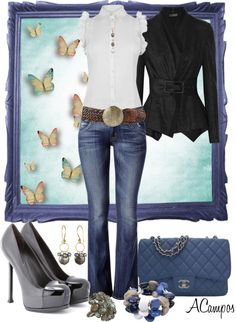 """It's A Casual Day"" by anna-campos on Polyvore"