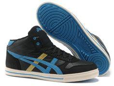 finest selection df9bb 54312 2013 Asics High Skateboard Shoes Black Blue Kd Shoes, Kobe 8 Shoes, Blue  Shoes
