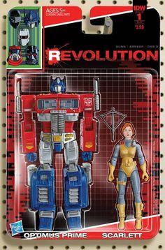 Revolution #1 (Of 5) Sub Variant D