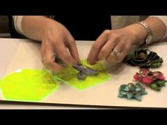 how to zipper flowers