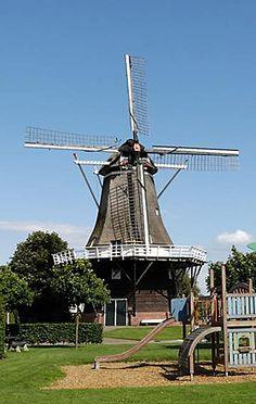 Flour mill Oortmanmolen, Lattrop, the Netherlands