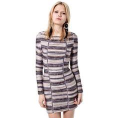 Mila long sleeve dress