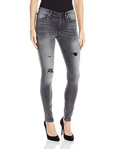 True Religion Womens Halle Midrise Super Skinny Black Vintage Solstice 27 *** Visit the image link more details.-It is an affiliate link to Amazon.