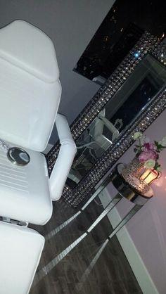 Beautiful waxing room! WWW.GLAMOURWAX.COM