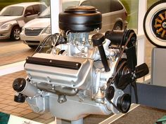 1951 331 Hemi. First year for the Chrysler Hemi production car engine.